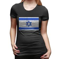 Israel Flag For Sale Sale Israel Flag Vintage Retro Women Super Funny T Shirts