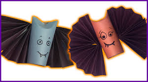 Bat For Halloween Diy How To Make Spooky Bats For Halloween Youtube