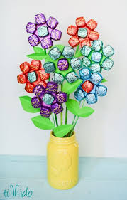 s day candy easy s day chocolate bouquet chocolate bouquet