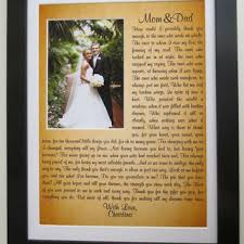 wedding gift from parents best personalized wedding gifts for parents products on wanelo