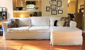Pillow Back Sofa Slipcover by Awesome Slipcovers For Sectional Couches Homesfeed