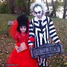 Halloween Costume Beetlejuice Beetlejuice U0026 Lydia Costumes Diy