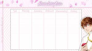 stundenplan designen stundenpläne für euch my sweet amoris