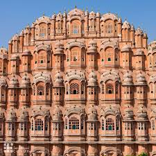 Colorful City Jaipur The Pink City In Colorful Rajasthan India