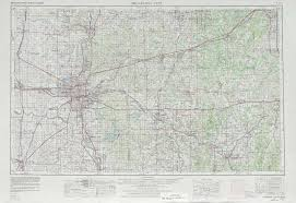 Western Colorado Map by Oklahoma City Topographic Maps Ok Usgs Topo Quad 35096a1 At 1