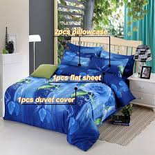 wolf bed set reactive printing wolf lion tiger leopard peacock 3d animals