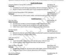 Resume For Medical Assistant Sample by Volunteer Resume Template Volunteer Work On Resumes Examples