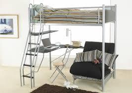 Loft Bed With Futon Underneath Cozy Loft Bed With Futon Underneath Simple Loft Bed With Futon