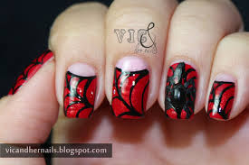 vic and her nails halloween nail art challenge spider webs