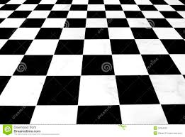 black and white checkered floor stock photography image 18384022