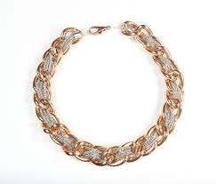 rose gold chain necklace images Rose gold chain necklace joann jpg