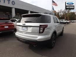 Ford Explorer 2014 - certified used cars trucks suvs palmetto ford charleston sc