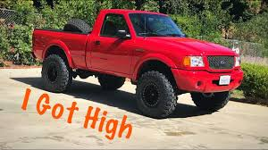 ranger ford lifted project 2002 ford ranger edge part four suspension lift and bigger