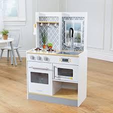 amazon cuisine enfant cuisine enfant en bois lets cook amazon fr jeux et jouets
