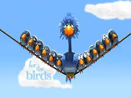 monsters inc for the birds wallpaper 1024 x 768 pixels
