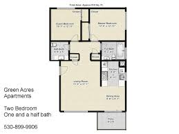 green acres apartments two bedroom one and a half bath floorplan jpg sfvrsn u003d2