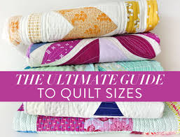 Comforter Size The Ultimate Guide To Quilt Sizes Suzy Quilts
