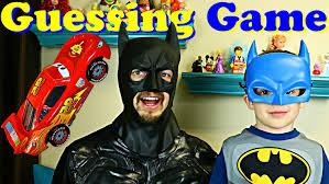 batman costumes little batman and batman costumes compete in disney cars guessing