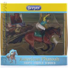american pharoah triple crown winner racehorse breyer ornament