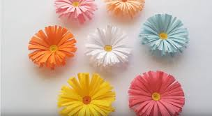 paper flowers simple paper flowers tutorial craftsonfire