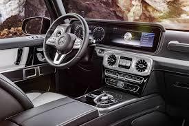 mercedes g wagon red interior mercedes reveals 2019 g class cabin confirms detroit debut
