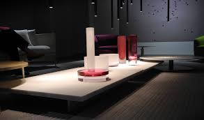 very low coffee tables at paola lenti studio milan 2012 de stefano