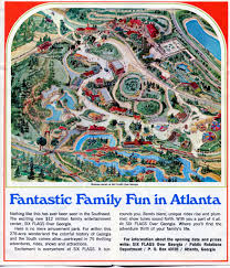 6 Flags Map Six Flags Over Georgia 1967 01 Brochure B Since The Park W U2026 Flickr