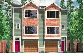 www house plans duplex house plans narrow lot townhouse small one story