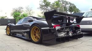 pagani zonda revolucion epic supercar only one in us delivery to