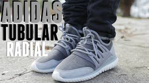 adidas tubular radial light purple shoes adidas tubular radial grey w on foot youtube