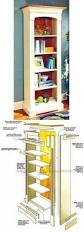 classic arch top bookcases plans furniture plans and projects