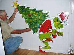grinch stealing the tree yard decoration 28
