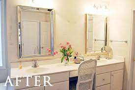 Bathroom Mirrors How To Safely And Easily Remove A Large Bathroom Builder Mirror