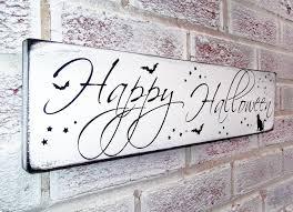 happy halloween sign halloween party decoration halloween door
