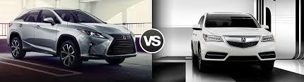 acura rdx vs lexus rx compare 2016 lexus rx 350 vs acura mdx ramsey nj