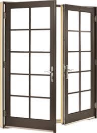 Outswing Patio Door by Wood Ultrex Fiberglass Integrity Windows