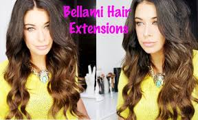 bellamy hair extensiouns bellami hair extensions tutorial review how to clip in