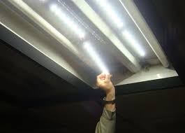 4 Led Light Fixtures High Efficacy 2x4 Led Retrofit Kit For Fluorescent Troffers In