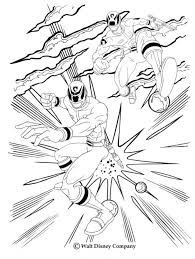 fighting rangers coloring power rangers coloring sheets