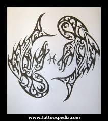 hawaiian pisces tribal tattoos