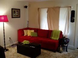 home design brown sofa living room ideas nice red decor 2