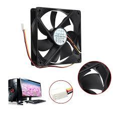 pc bureau silencieux universal 12 v 3pin standard silencieux computer cpu ventilateur