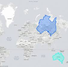 Map Showing Equator The True Size Website Shows Just How Large Countries Are Compared