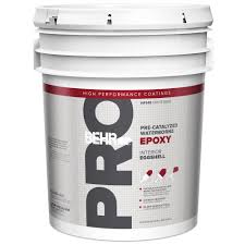 behr pro 5 gal i300 white eggshell interior paint pr33005 the