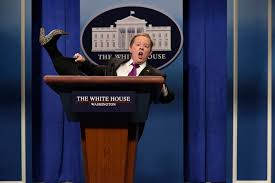 watch all of melissa mccarthy u0027s sean spicer snl sketches people com