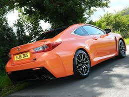 rcf lexus orange used lexus rc f for sale