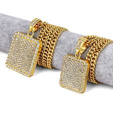 aliexpress buy nyuk new fashion american style gold nyuk new hip hop necklace jewelry heavy gold silver of