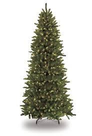 the aisle pre lit slim fraser 12 green fir artificial
