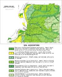 Memphis Map Geology Geotechnical Engineering And Natural Hazards Of Memphis