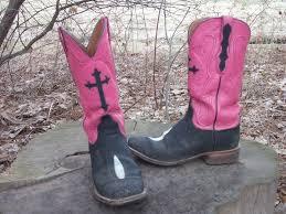 cowboy home decor pink u0026 black cowboy boots